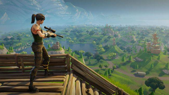 Fortnite's new heavy sniper is real and can one-shot metal walls