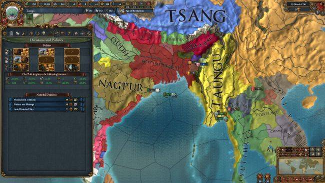 Europa Universalis IV's Dharma expansion gets a release date