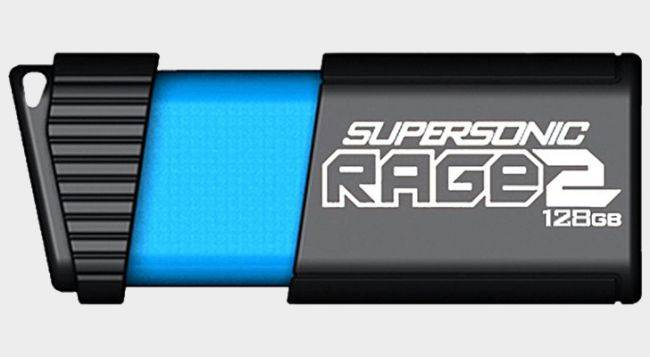 This Patriot Memory Rage 2 128GB flash drive is just $36 for today only