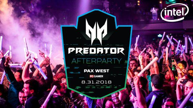 The Predator Gaming After Party is coming to PAX West 2018