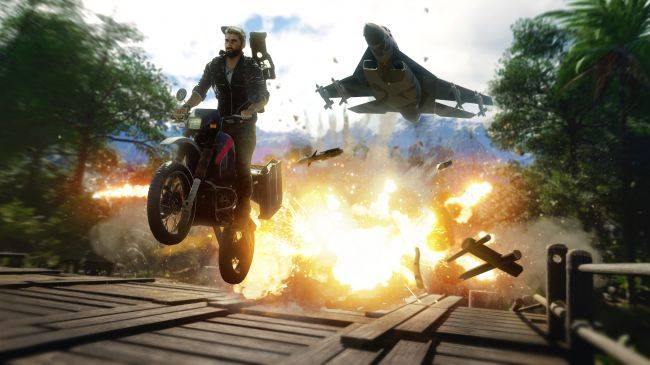 Watch Rico chase a tornado and railgun a wind cannon in new Just Cause 4 video