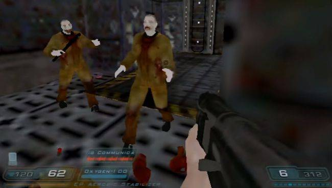 Watch Doom 3 running (hideously) on Windows 98 and a 12MB graphics card