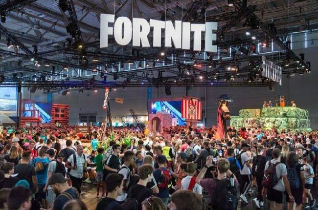 Epic: No one pooped in a bag while standing in line for Fortnite at Gamescom