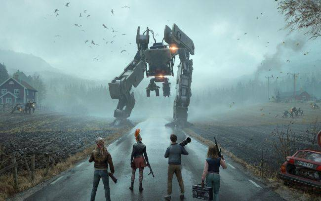 Swedish artist Simon Stålenhag is not happy with Generation Zero