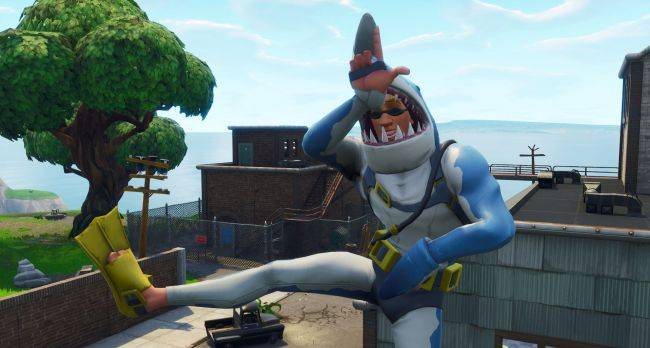 Fortnite's storm will damage player-made structures starting in patch 5.40