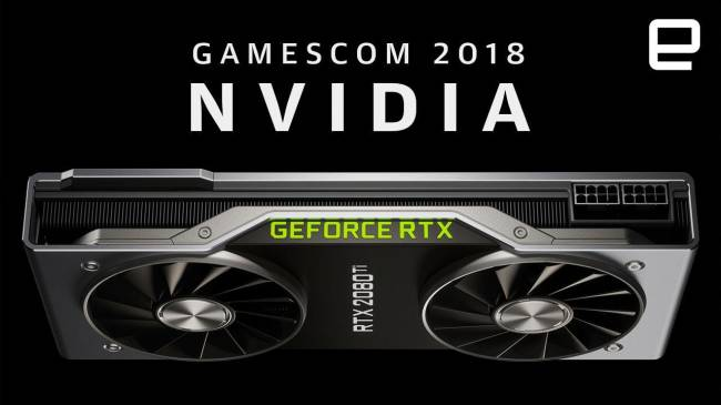 Watch NVIDIA's Gamescom presentation in under 14 minutes