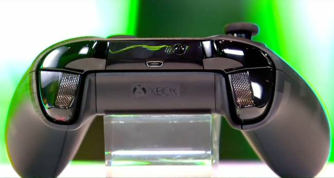 The latest Xbox One gamepad innovation: trigger grips
