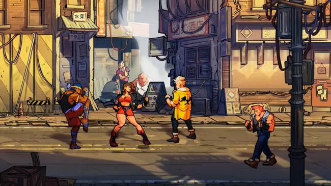 'Streets of Rage 4' revives Sega's beat 'em up classic