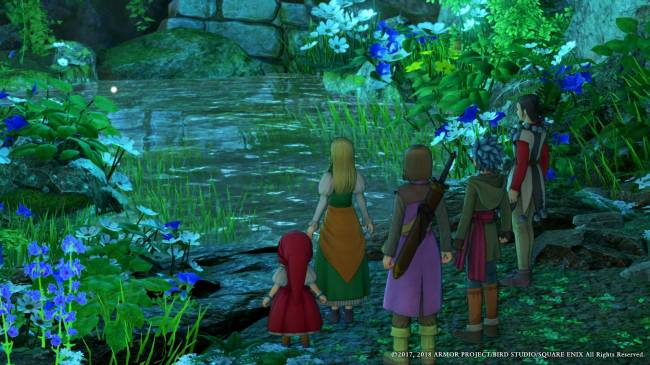 You need to finish 'Dragon Quest XI'