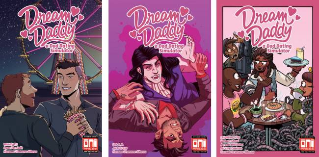 'Dream Daddy' comic revisits the world of the popular dating sim