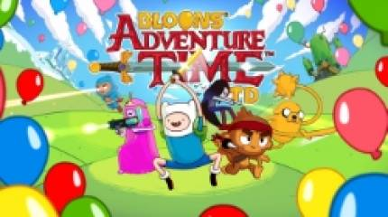 Pop Bloons in the Land of Ooo when Bloons Adventure Time TD hits iOS and Android this month