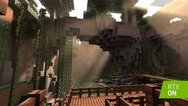 Minecraft gets official ray tracing support for Nvidia RTX cards