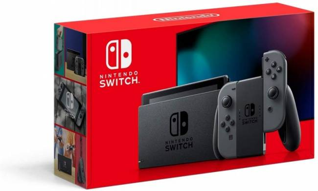 Here's What New Switch Model's Box Art Looks Like