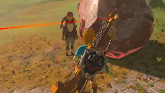 The zany antics in this Zelda: Breath of the Wild clip would make Bugs Bunny blush