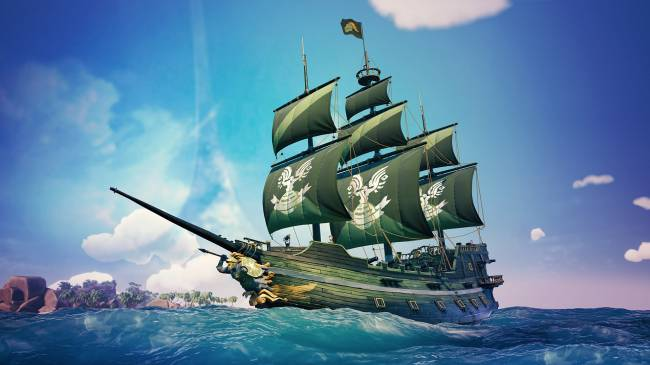 Sea of Thieves is bringing back the Halo ship