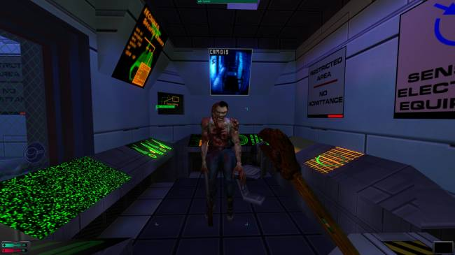 Nightdive is focusing on multiplayer for System Shock 2: Enhanced Edition