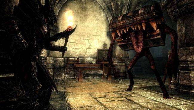 This Skyrim mimic mod has completely ruined chests