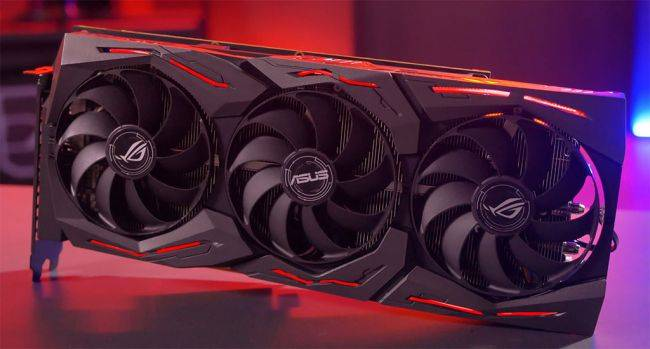 Asus is planning to launch five custom Radeon 5700 cards this month
