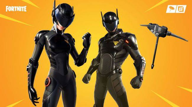 Fortnite shop update: These new skins are one part power ranger, another part Daft Punk