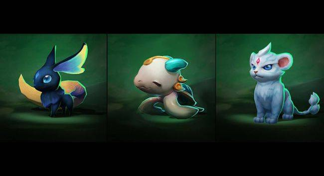 Teamfight Tactics adds three more 'Little Legends' to the PBE