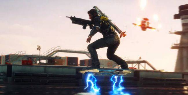 Just Cause 4: Danger Rising gives Rico a hoverboard