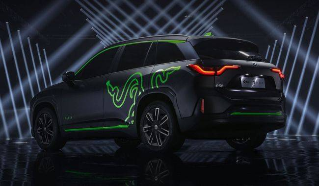 The next thing Razer is adding RGB lighting to is *checks notes* a car