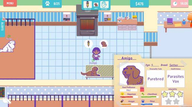 Dog shelter simulator To The Rescue hits Kickstarter goal after two days