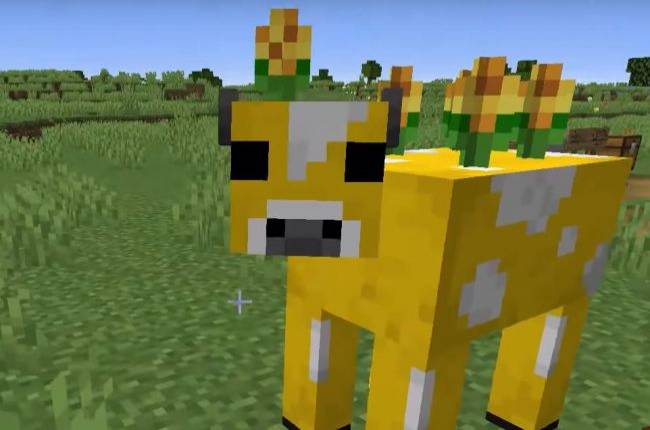 Modder brings Minecraft Earth mobs to PC, including a chicken that lays mushrooms