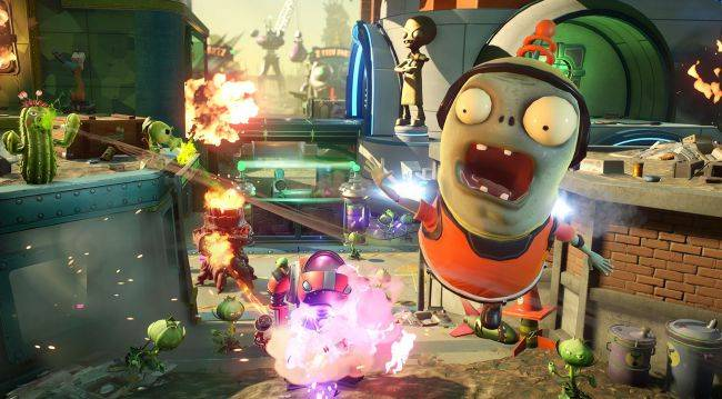 Plants vs. Zombies: Battle for Neighborville trademarked by EA