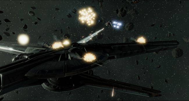 Battlestar Galactica Deadlock DLC adds new campaign and ships later this month