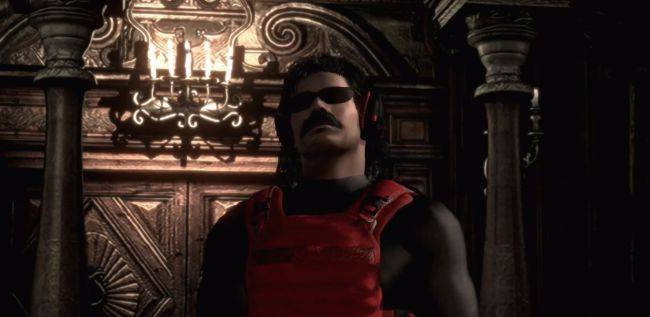 Modders have added Dr Disrespect to two Resident Evil games
