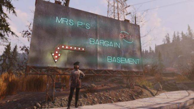 This Fallout 76 player lives underneath the map