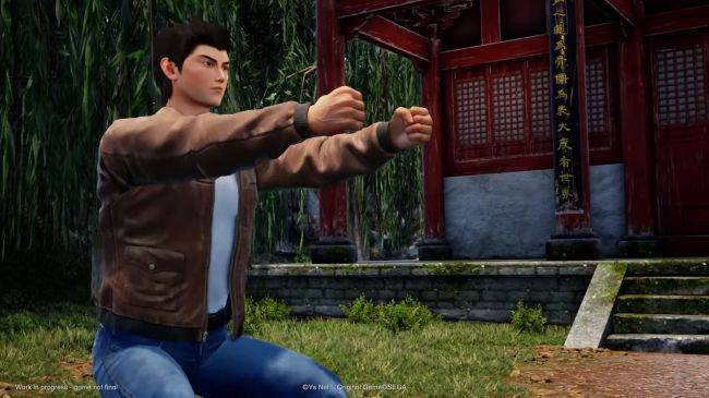 Shenmue 3's backer PC trial is coming next month