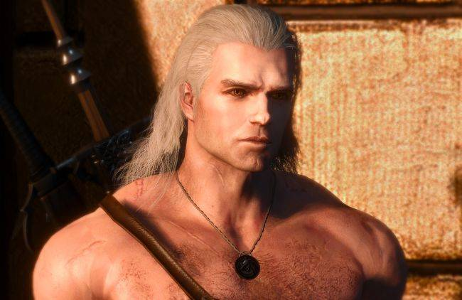 This Witcher 3 mod turns Geralt of Rivia into a man resembling Henry Cavill