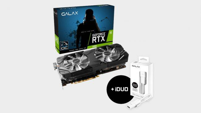 Grab an RTX 2080 on sale for $589, the lowest price we've ever seen