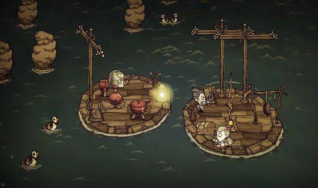 Don't Starve Together introduces rickety multiplayer boats