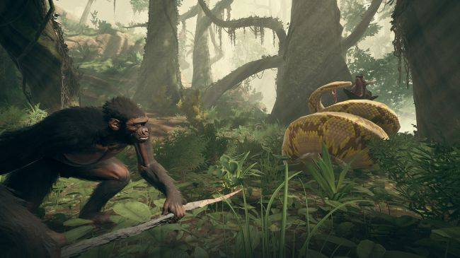 Ancestors: The Humankind Odyssey shows off its evolution system