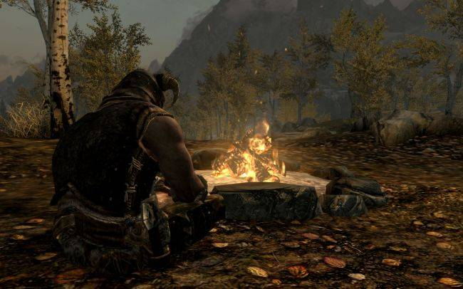 Skyrim SE mod finally lets you do something useful with books, like burn them