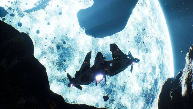 Everspace devs show off new open world space shooter
