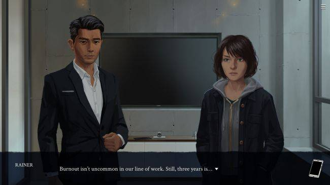 Eliza is a visual novel about AI therapy from Zachtronics, out now