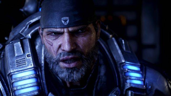 A new Gears 5 story trailer depicts a world in ruin, wind-surfing