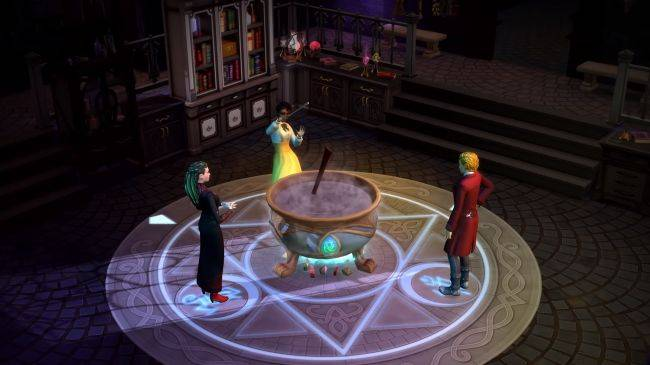 You can become a wizard in The Sims 4's next game pack, Realm of Magic