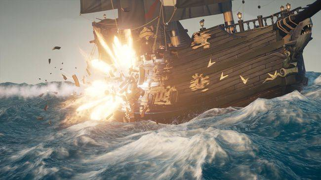 Fire is coming to Sea of Thieves, although we're not supposed to know that yet