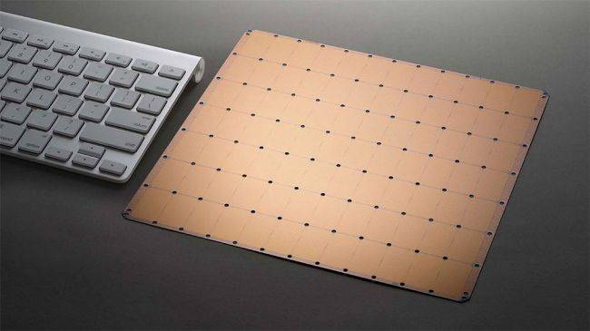 The world's first trillion-transistor chip is bigger than some mouse pads