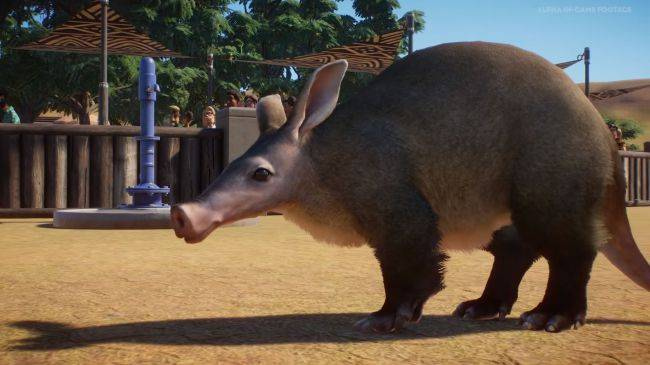 Planet Zoo will have aardvarks