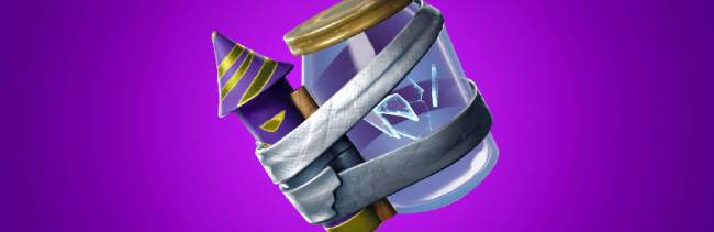 Fortnite's latest throwable weapon lets you kill people by dropping junk on their heads