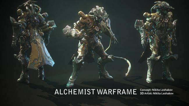 Here's a first look at Warframe's next three warframes coming this year