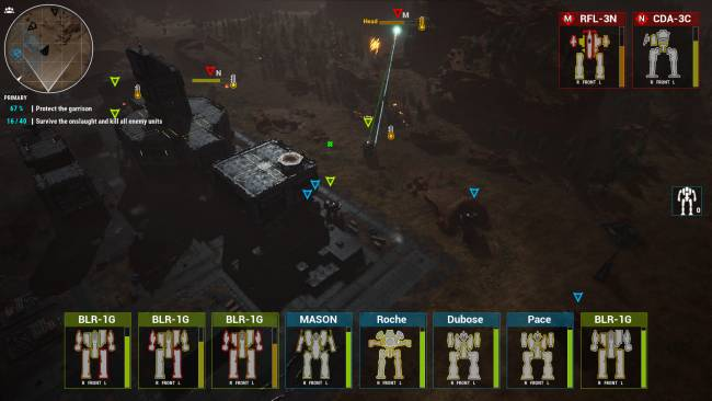 Here's a mod that turns Mechwarrior 5 into an RTS