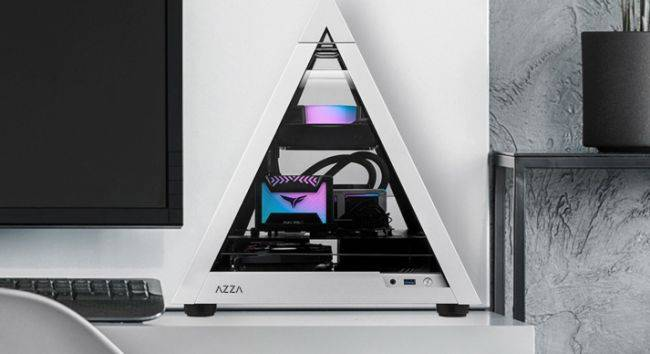 You can build a compact gaming PC inside this tiny pyramid