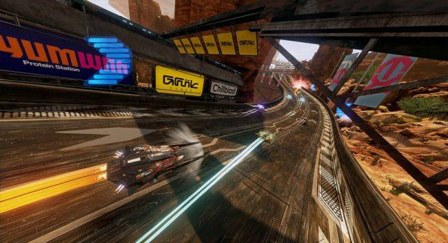 Wipeout-style racing game Pacer blasts onto Steam this September